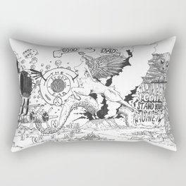 The story so far Rectangular Pillow