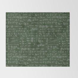 Geek math or economic pattern Throw Blanket