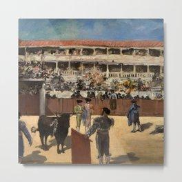 "Édouard Manet ""Bullfight"" Metal Print"