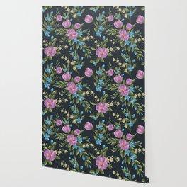 Beautiful retro flower seamless pattern Wallpaper