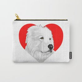 Great Pyrenees Carry-All Pouch