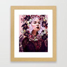 Joanne Framed Art Print
