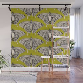 swallowtail butterfly citron basalt Wall Mural