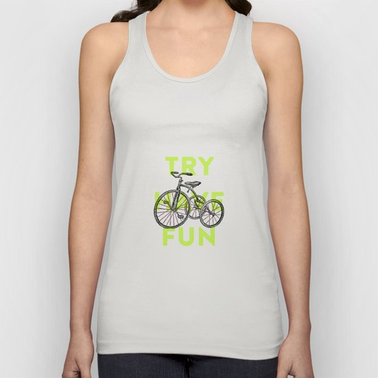Try have fun Unisex Tank Top