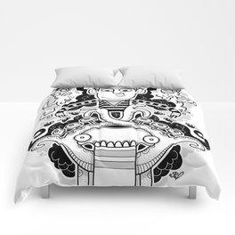 Oven Mitt Machine II (The Illusion vs The Master) Comforters