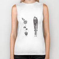 vegetarian Biker Tanks featuring Confessions of a vegetarian by Ivana Zdravkovic
