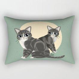 Lovely kitties Rectangular Pillow