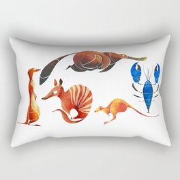 Australian animals 2 Rectangular Pillow
