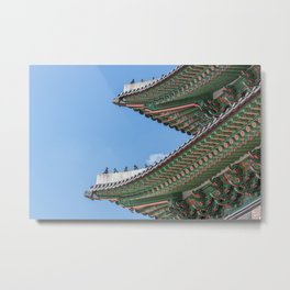Gyeongbokgung Palace Lines_South Korea Metal Print