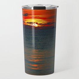 Fire in the Sea Travel Mug