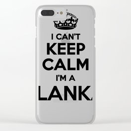 I cant keep calm I am a BLANKA Clear iPhone Case