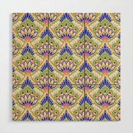 Floral Tile Wood Wall Art