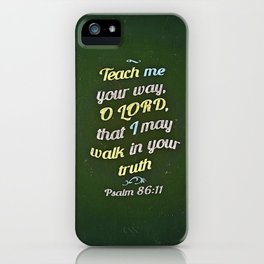 Teach Me iPhone Case