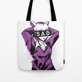 Sad anime girl Tote Bag