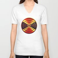 focus V-neck T-shirts featuring Focus by DebS Digs Photo Art