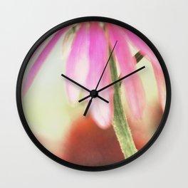 Flower Shower Wall Clock