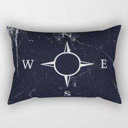 Dark compass Rectangular Pillow