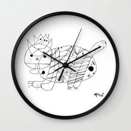 Joan Miro El Gato The Cat Artwork for Prints Posters Tshirts Men Women Kids Wall Clock