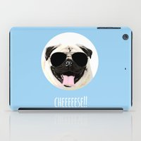 cheese iPad Cases featuring CHEESE by Laura Maria Designs