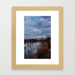 Cloudy Skies Framed Art Print