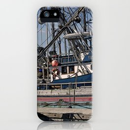 FISHING BOATS VISE A VERSA iPhone Case