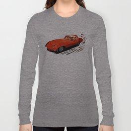 Vintage 1969 Jaguar  | Nadia Bonello Long Sleeve T-shirt