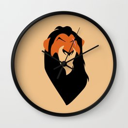 The Lion King - Scar Wall Clock