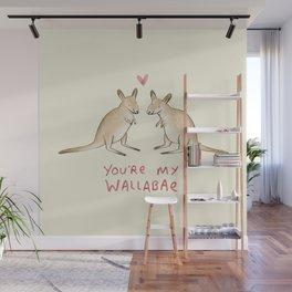 Wallabae Wall Mural