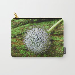 Globe Thistle. Carry-All Pouch