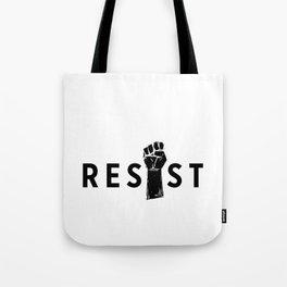 Resist Fist Tote Bag