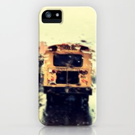 frisco kid // yellow bus iPhone Case