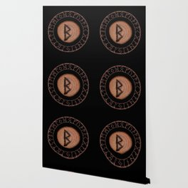 Berkano Elder Futhark Rune secrecy, silence, safety, mature wisdom, dependence, female fertility Wallpaper