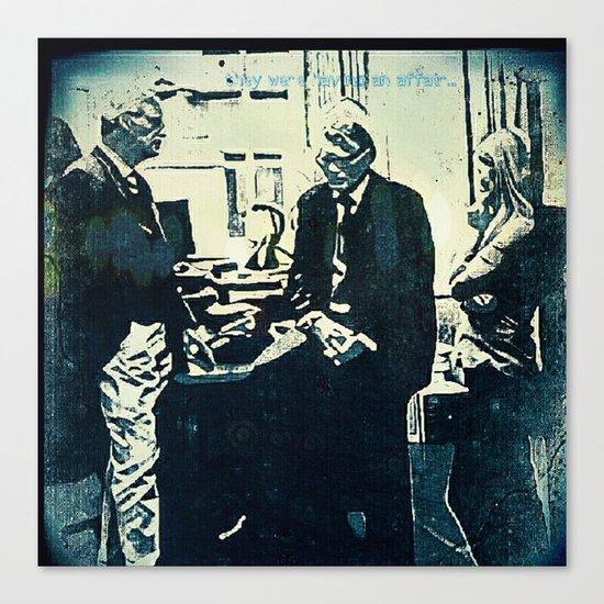 Manage a Trois (Office Drama) Canvas Print