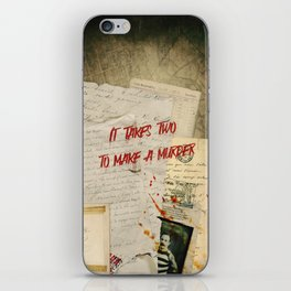 Murder Board iPhone Skin