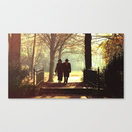 Love doesn't have an age Canvas Print