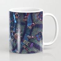 arabic Mugs featuring arabic fractal by erosione