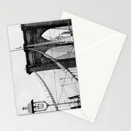 new york city ... brooklyn bridge & lantern Stationery Cards