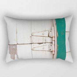 the barn door  Rectangular Pillow