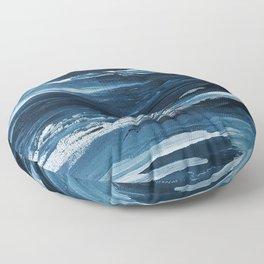 It Comes In Waves III Floor Pillow