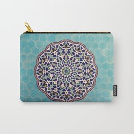 Yazd Tilework Carry-All Pouch
