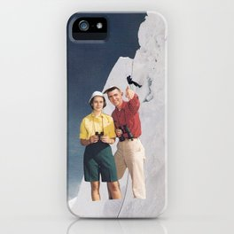 Look up there iPhone Case