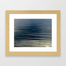 Beautiful Calm Coastal Waters Framed Art Print