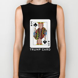 Re-Elect Trump for President. Keep America Great! Dark Biker Tank