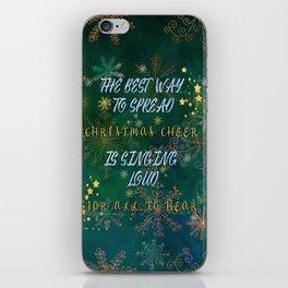 Christmas Cheer iPhone Skin