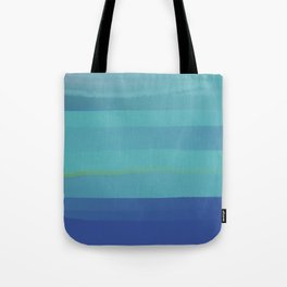Impressions in Teal and Blue Tote Bag