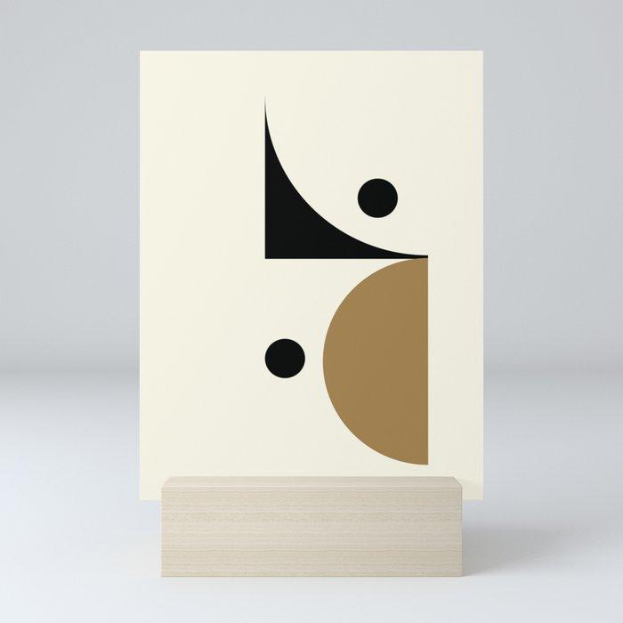 Curve Mini Art Print