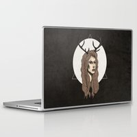 fawn Laptop & iPad Skins featuring Fawn by FAIIINT