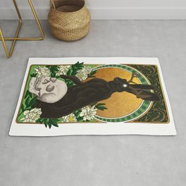 Guardian of Light and Death Rug