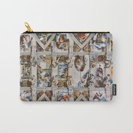 Sistine Chapel Ceiling Michelangelo Carry-All Pouch