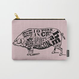 Pig Cuts Carry-All Pouch